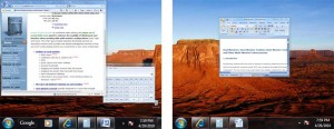 Multi-monitor Taskbar in individual mode. From actualtools.com